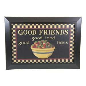 Good Friends Country Art Framed