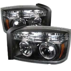 Dodge Dakota Halo Led Projector Headlights / Head Lamps/ Lights