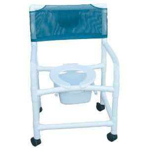 MJM International E122 3TW SQ PAIL Echo Shower  Commode