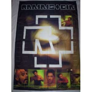 RAMMSTEIN 5x3 Feet Cloth Textile Fabric Poster