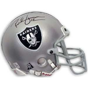 Rich Gannon Oakland Raiders Autographed Authentic Riddell