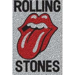 Rolling Stones Red Glitter Tongue Magnet M 0438 G Kitchen