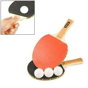 Como Pair Ping Pong Table Tennis Double side Rubber Bat