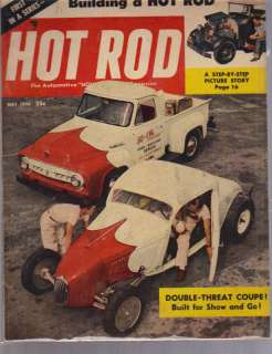 1954 HOT ROD MAGAZINE MAY EXCELLENT CONDITION