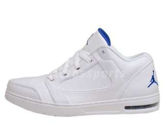 Nike Jordan Classic Low White Royal Blue Air Max Men Basketball Shoes