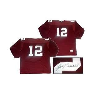 Joe Namath Hand Signed Alabama Jersey Sports Football