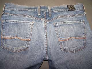 WOMENS LUCKY BRAND SUNDOWN JEANS SIZE 6 X 30 2952