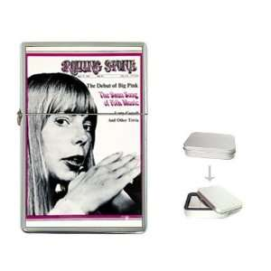 Joni Mitchell Rolling Stone Cover 1969 Flip Top Lighter