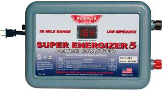 PARKER McCRORY PARMAK SUPER ENERGIZER 5 SE 5 ELECTRIC FENCE CHARGER