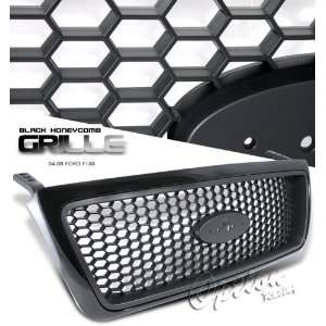 05 06 07 08 FORD F150 F 150 TRUCK HONEYCOMB STYLE FRONT BLACK GRILLE