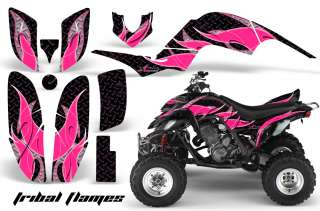 AMR GRAPHICS DECAL STICKER KIT YAMAHA RAPTOR 660 PINK