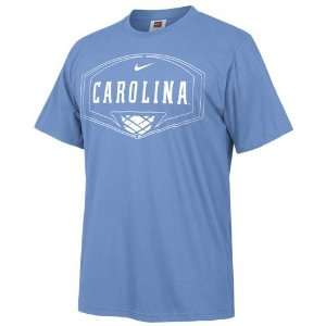 Nike North Carolina Tar Heels (UNC) Basketball Light Blue Backboard T