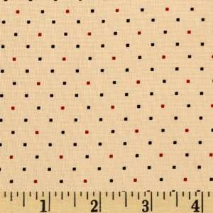 44 Wide Tiny Dots Neutral Fabric By The Yard Arts