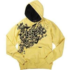 Fox Racing Metamorphasis Hoody   2X Large/Yellow