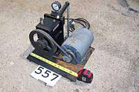 ACE NELSON HIGH VACUUM PUMP MODEL #921 115 VAC