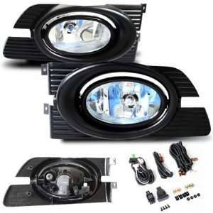 2001 2002 Honda Accord 4DR OEM Style Fog Lights with Smoke