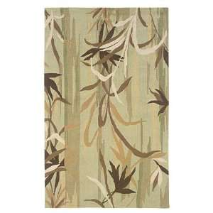 Linon Home Decor RUG IO24123 Indoor Area Rug, Olive
