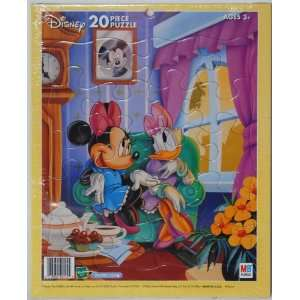 Tray Puzzle   Minnie Mouse and Daisy Duck Tea Party Toys & Games