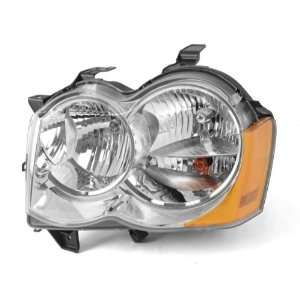 Rugged Ridge 12402.23 Driver Side Headlight for 2008 2010 Jeep Liberty