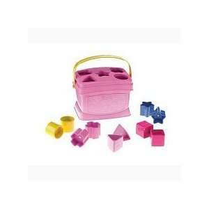 Fisher Price Brilliant Basics Babys First Blocks Pink