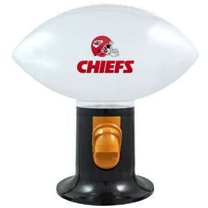 NFL Kansas City Chiefs Football Snack Dispenser Sports
