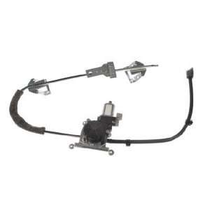 Comanche/Wagoneer Front Driver Side Power Window Regulator with Motor