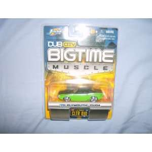 Jada Dub City Bigtime Muscle 70 Plymouth Cuda 164 Scale