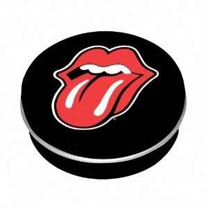 THE ROLLING STONES LOGO CIRCLE MINI TIN BOX Toys & Games