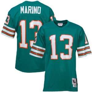 13 Dan Marino 1984 Aqua Throwback Football Jersey