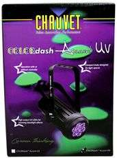 CHAUVET COLORDASH ACCENT VW COMPACT LED WASH LIGHTS 781462205676