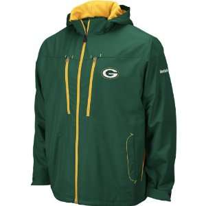 Reebok Green Bay Packers Mens Sideline Midweight Jacket