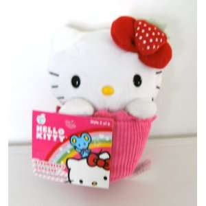 Hello Kitty Strawberry Cupcake Plush toy Toys & Games