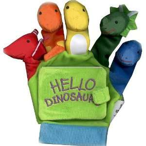 Little Scholastic Hello Dinosaurs Baby Hand Puppet Board Book Baby