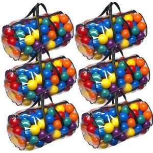 Pit Balls 6 Carry Bags Top Quality Balls Primary Colors Toys & Games
