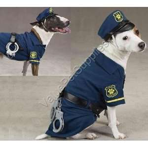 Cop Canine Police Officer Halloween Dog Costume Medium Toys & Games