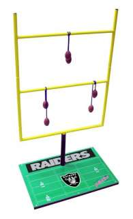 Oakland Raiders NFL Metal Bolo Ball Football Toss Game