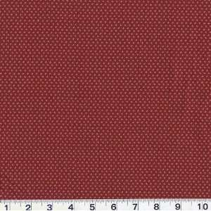 45 Wide Zenith Abstract Dots Red Fabric By The Yard