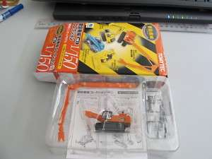 Hitachi ZX 480LCK 3 long reach excavator model N Scale