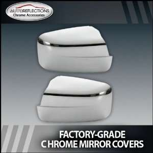 2009 2012 Dodge Ram Chrome Mirror Covers (Full) Without