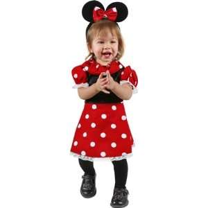 Infant Baby Girl Minnie Mouse Dress Costume (Sz Infant