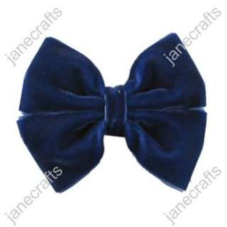 Velvet Pinwheel Girl/Baby/Toddler Hair Bows wholesale 12pcs