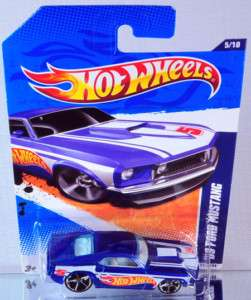 Hot Wheels 69 Ford Mustang 2011 HW Racing