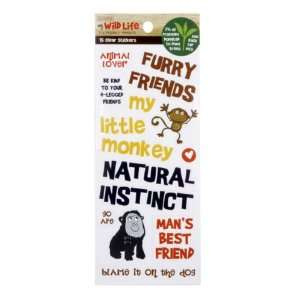 My Wild Life Clear Stickers   Natural Instinct Arts