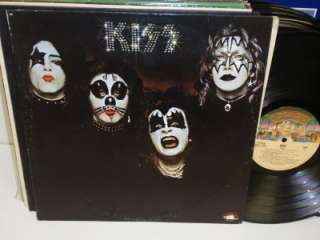 KISS Self Titled S/T LP Casablanca NBLP 7001 Debut Vinyl Album Record
