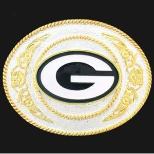 Green Bay Packers Belt Buckle   NFL Football Fan Shop