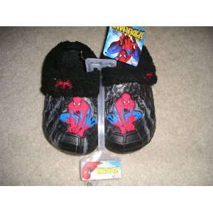 Spiderman Clog Style Slippers/Childrens Shoes