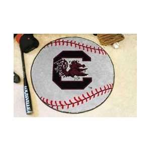 SOUTH CAROLINA GAMECOCKS   BASEBALL MAT 29diameter