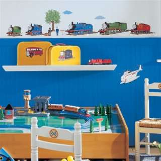 THE TANK ENGINE WALL DECALS Train Stickers Boys Bedroom Decorations