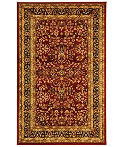 Collection Persian Treasure Red/ Black Rug (33 x 53)