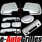 07 12 toyota tundra double cab chrome mirror door handle